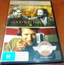 Robin Williams, Two-DVD Set, Good Will Hunting + Good Morning Vietnam, (2012)