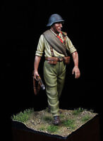 Republic Soldier at Spanish Civil War 54mm 1/32 Tin Painted Toy Soldier | Art