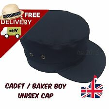Waterproof Waxed Cotton Military/Cadet Cap / Baker Boy (unisex adjustable back)