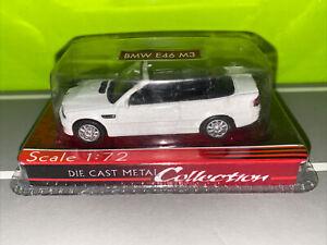 Yat Ming 1/72 1:72 Die Cast Metal Car In Packaging Unopened BMW E46 M3 White