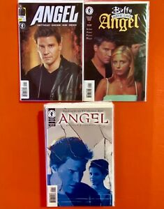 ANGEL #1-17+ SPECIALS / BUFFY THE VAMPIRE SLAYER DARK HORSE COMICS / NM FULL RUN
