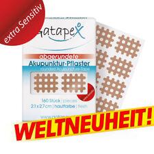 Gatapex NEU Akupunktur Pflaster Gitter 160 St. Haut (2,1cm x 2,7cm) runde Ecken