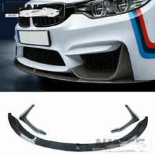 For BMW M3 M4 F80 F82 F83 Front Bumper Lip Splitter 15-20 MP Style CARBON LOOK