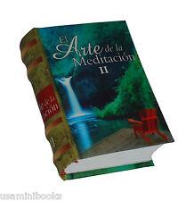 El Arte de la Meditación II pequeño libro de colección pasta dura fácil lectura