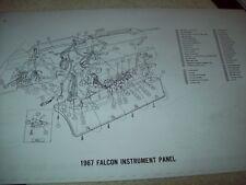 1967 Mercury Comet wiring diagram 11X17 18 Pages