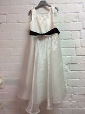 Girls Bridesmaid Dress Age 6 Years BHS Ivory Embroidered/Bead Detail