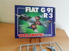 ATLANTIC figurine : AVION 1/100 KIT MAQUETTE AVION DE CHASSE FIAT G 91-R3 -