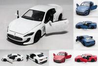 Maserati Gran Turismo Car 1:32 DIE-CAST Model Alloy Collection Sound & Light