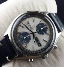 Vintage Seiko panda chronograph automatic men's japan working wrist watch .rare