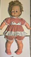 Vintage Ideal Patty Playpal Kissy Doll K 21 L K 22 1960s Needs TLC