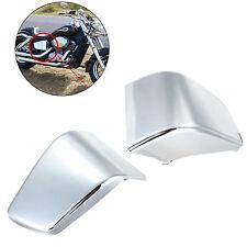 Chrome Plastic Battery Side Fairing Cover For Honda Shadow VT750 VT400 1997-2003