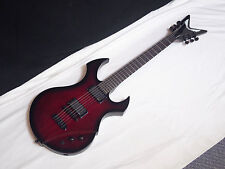 DEAN Defyent electric GUITAR new Trans Purple BUBINGA -EMG pickups- LIMITED RARE
