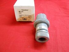 New Russellstoll 3720 Pin & Sleeve Plug Connector 20A 250V 15A 600V