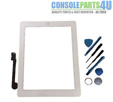 New iPad Digitizer Touch Screen (White), fits iPad 3 & iPad 4, WiFi & 3G models