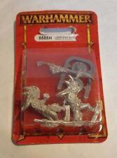 GW Warhammer Lizardmen Saurus Temple Guard (8585H) - METAL SEALED BLISTER RARE