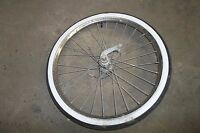 Sears Womans Spaceliner Bicycle Front and Rear Tires with Rims
