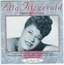 ELLA FITZGERALD: FIRST LADY OF JAZZ - CD (1994) 16 TRACKS: IF DREAMS COME TRUE++