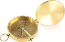 alter Kompass Stanley London - Messing