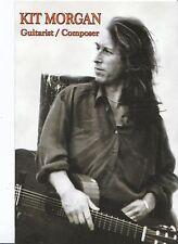 Music Postcard - Kit Morgan - Guitarist - Composer   AB2435