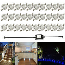 30X19mm LED Deck Rail Step Lights Outdoor Lamp Garden Path Yard Inground Plinth