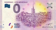 Billet Touristique 0 Euro --- Donzenac - cité médiévale - 2018-3