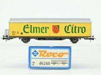 HO Scale Roco 46168 SBB Swiss Fed. Slide Side Door Box Car ELMER CITRO European