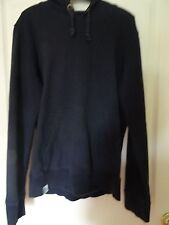 """Burton black hooded long-sleeved top - size S  (chest 35-38"""")"""