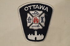 Canadian Ontario Ottawa Fire Dept Services White Patch 1