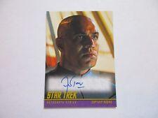 2017 Star Trek Beyond Trading Cards Faran Tahir  Captain Robau Autograph Classic