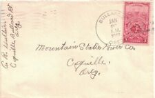 1949 Bullards, Oregon 4-bar Cancel on a Cover Sent to Coquille, OR -- DPO ~