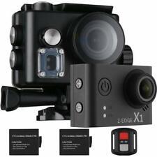 Z-EDGE 4K Action Camera, WiFi Ultra HD Waterproof Sport Camera 2 Inch LCD