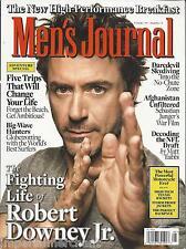 Mens Journal magazine Robert Downey Jr Daredevil skydiving NFL draft Afghanistan