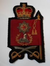 household division sleeve patch of the colstream guards  colour sergeant & CQMS