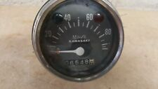 1971 KAWASAKI G3 90cc SPEEDOMETER WITH 6,548 MILES TESTED WORKS GREAT        #1