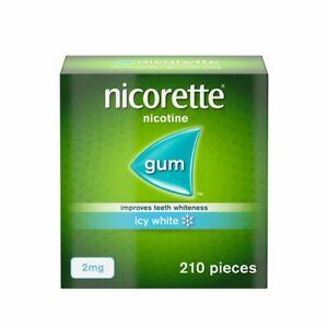 Nicorette ICY WHITE Flavour 2mg Gum - 210 Pieces