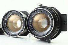 🌟 N-Mint 🌟 Mamiya Sekor 55mm F/4.5 TLR Lens for C33 C22 C330 C220.. from Japan