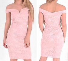 Womens Ladies Lace Dress  Occasion Girls Night Out Date Night Dress 6 8 10 12