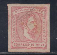 ESPAÑA (1874) USADO SPAIN - EDIFIL 157 (16 mv) CARLOS VII