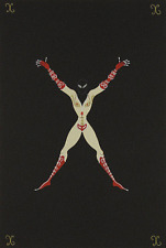 """ERTE SERIGRAPH, """"LETTER X"""" PENCIL SIGNED AND NUMBERED, LOOK AT MY STORE"""