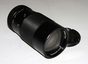 EXC! Vivitar 3.5/200 manual focus Telephoto lens Canon Fd mount