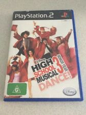 High School Musical Dance Sony PlayStation 2 Console Game PAL PS2