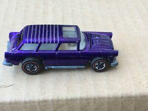 1969 Hot Wheels Redline Classic Nomad Purple