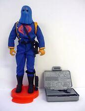"""GI JOE COBRA COMMANDER Vintage 12"""" Action Figure Hall of Fame COMPLETE 1992"""