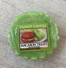 Green Yankee Candle Melt Tart - Macaron Treats Scent