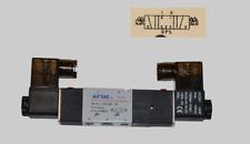 "Pneumatikventil 5/3 Wege 24 Volt 1/4"" 1,5 - 8  bar 5/3 Wegeventil Magnetventil"