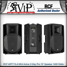 "RCF ART 715-A MK4 Active 2-Way Professional 15"" Powered Speaker 1400W Amplified."