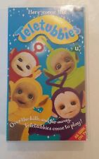Here come the Teletubbies VHS 1999 Tape BBC RETRO VINTAGE KIDS RARE NEW 62 mins