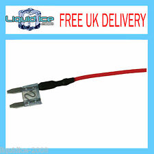 AUTOLEADS MFS15A 15 AMP MINI SPUR BLADE FUSE LEAD CABLE FOR CAR VAN BUS VEHICLE