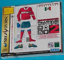 J. League Pro Soccer Club 2 - Sega Saturn - JAP