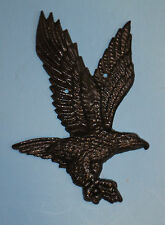 "2 ct, 9"", Cast Iron, American, Bald, Eagle, wall plaques, wall decor, patriots"